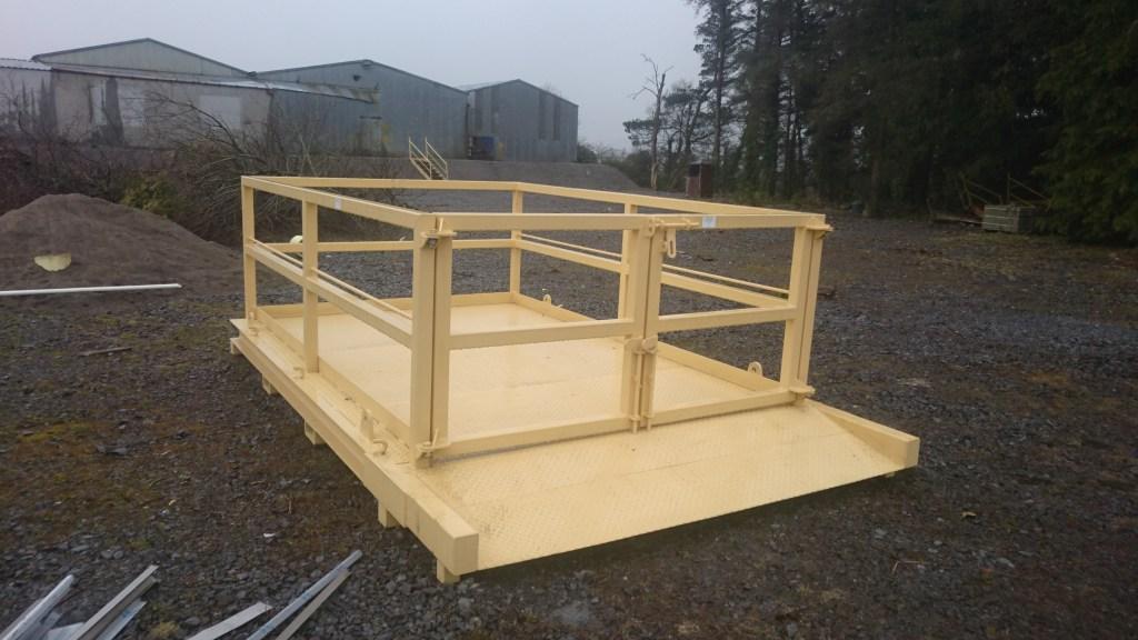 Lifting Platform Front