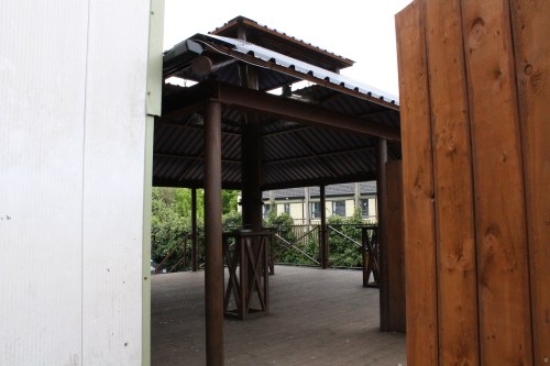 Outdoor Smoking Area (1) with Double Roof