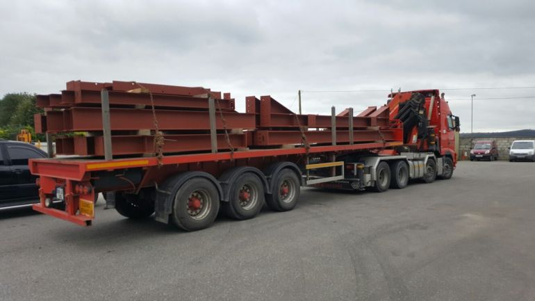 1 - Load of steel heading for Dublin