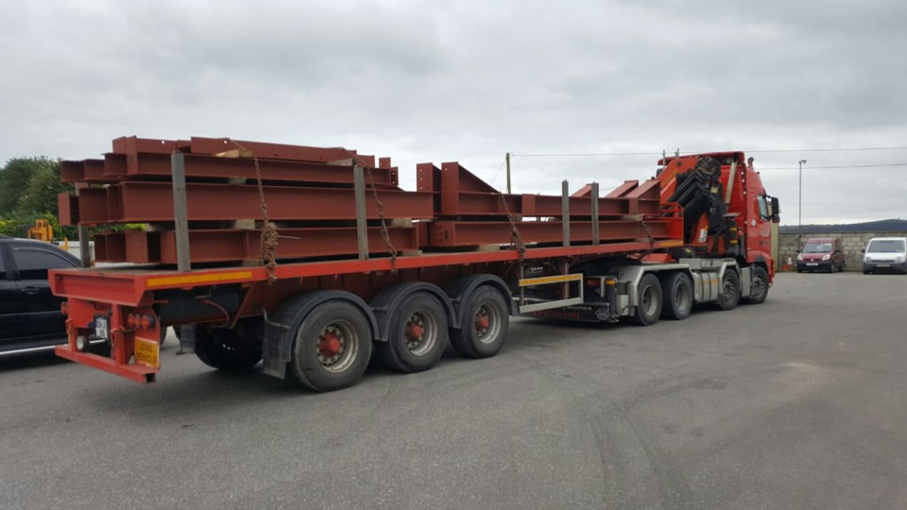 1 - Load of steel heading for Dublin