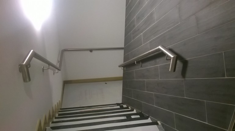 10 - Stainless Steel Handrail