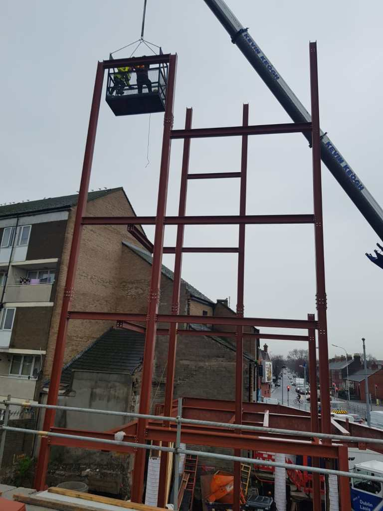 6 - Structural steel installation Popular Row