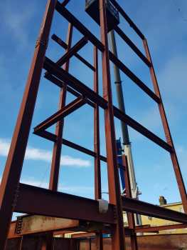 9 - Structural steel installation Popular Row