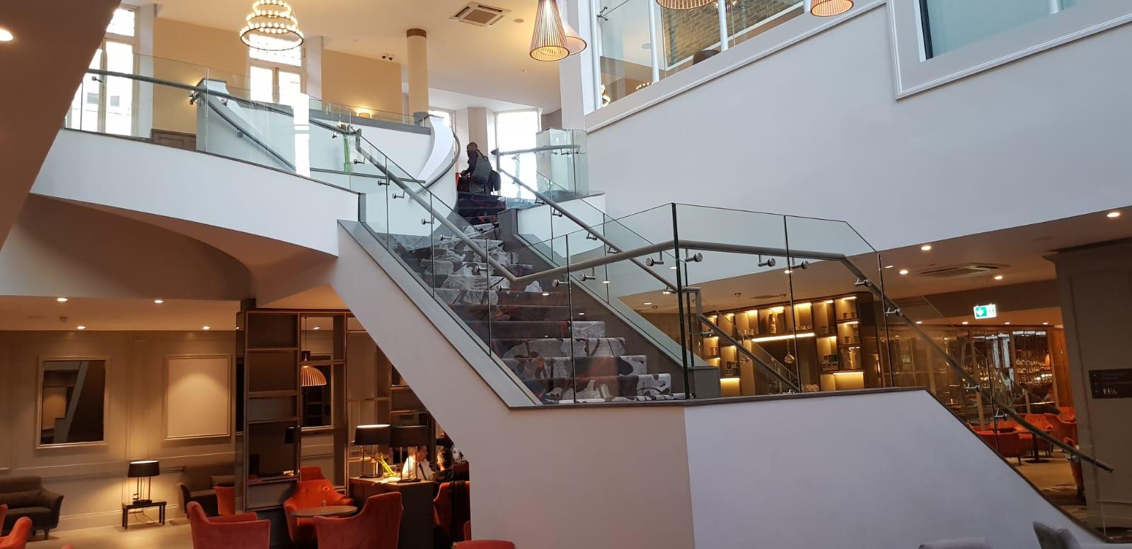 Feature Staircase Clayton Hotel, Ballsbridge (2)