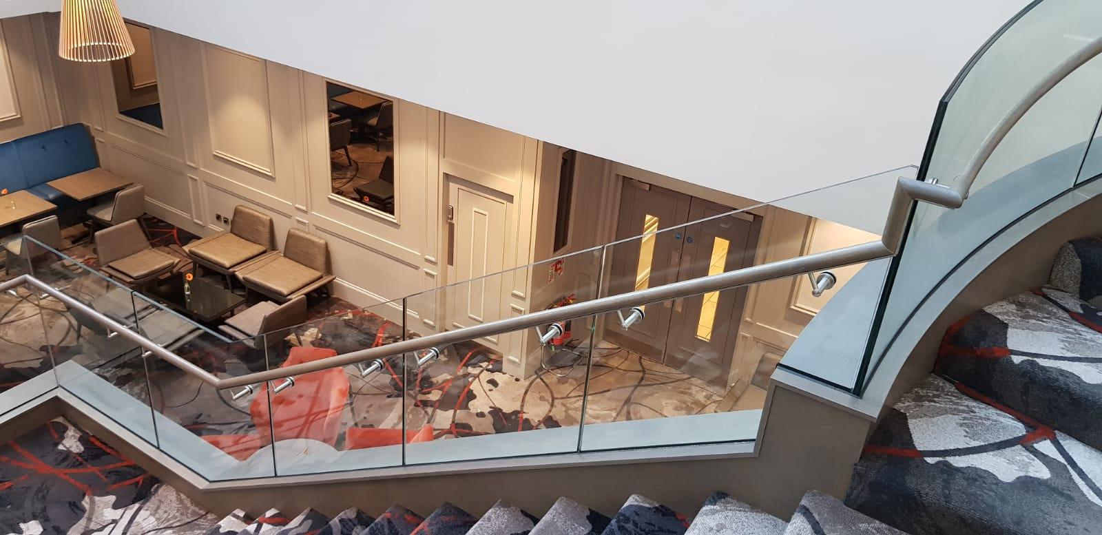 Feature staircase Clayton Hotel, Ballsbridge (13)