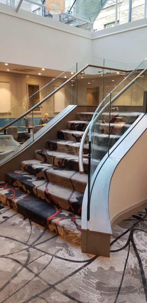 Feature staircase Clayton Hotel, Ballsbridge (6)