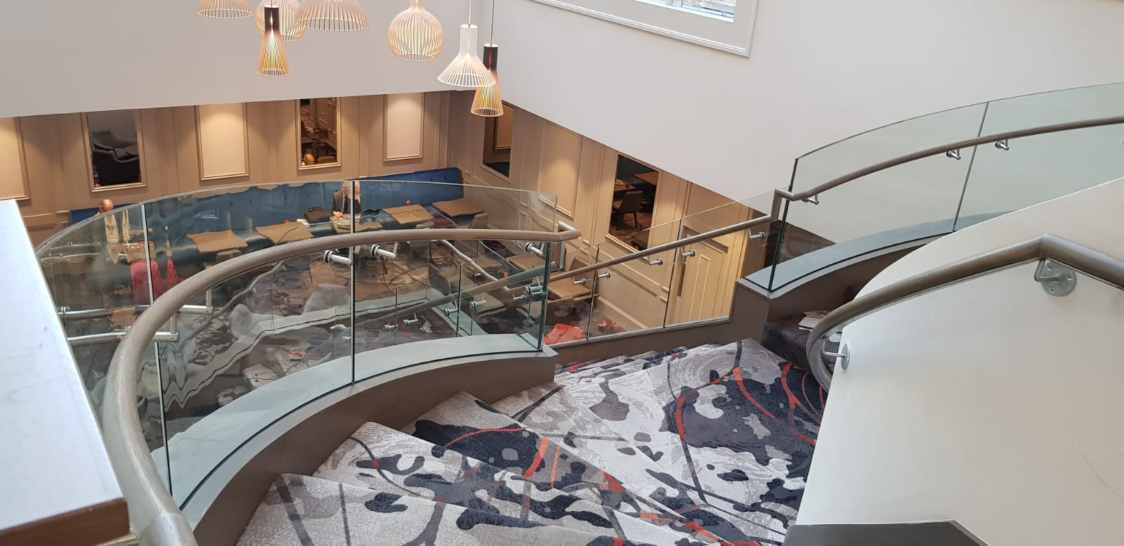 Feature staircase Clayton Hotel, Ballsbridge (8)