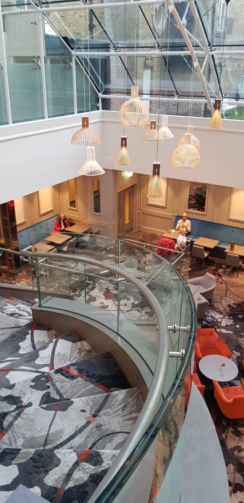 Feature staircase Clayton Hotel, Ballsbridge (9)