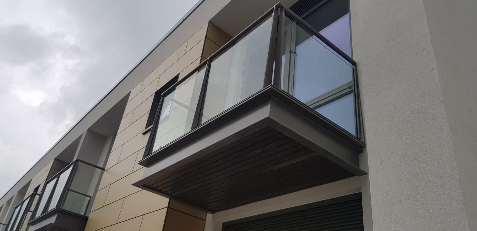 Installed balconies at Peamount Hospital 3
