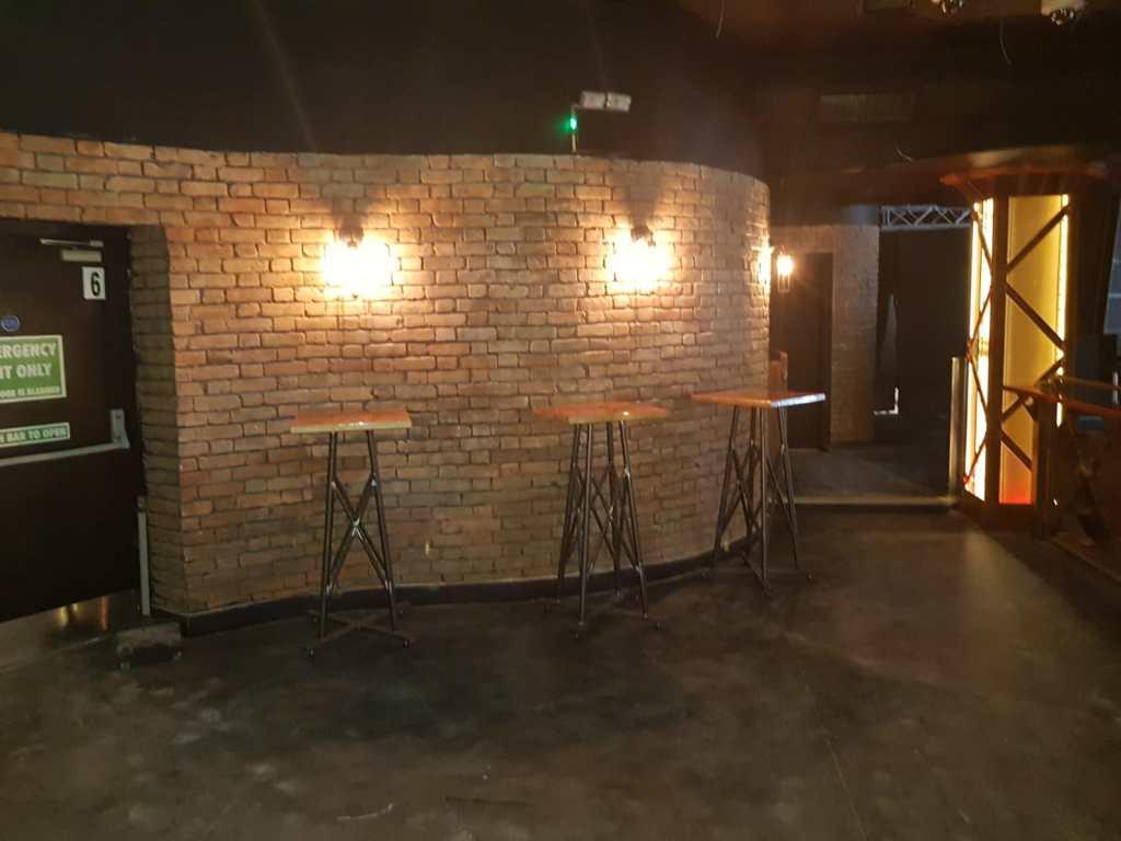 Mild steel bespoke tables