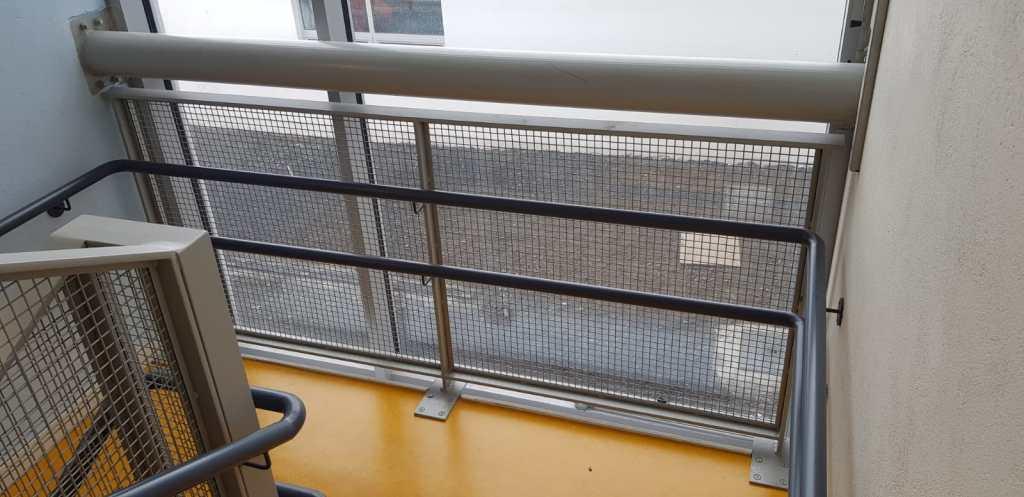 Stair Core hand rail, balustrade installation (5)
