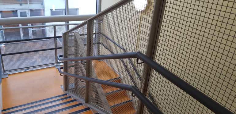 Stair Core hand rail, balustrade installation (6)
