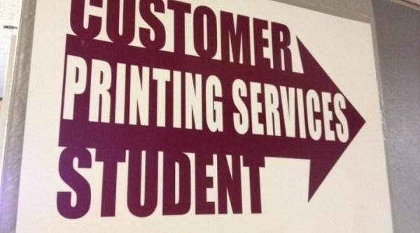 Printing | Department Of University Procurement | Eastern ...