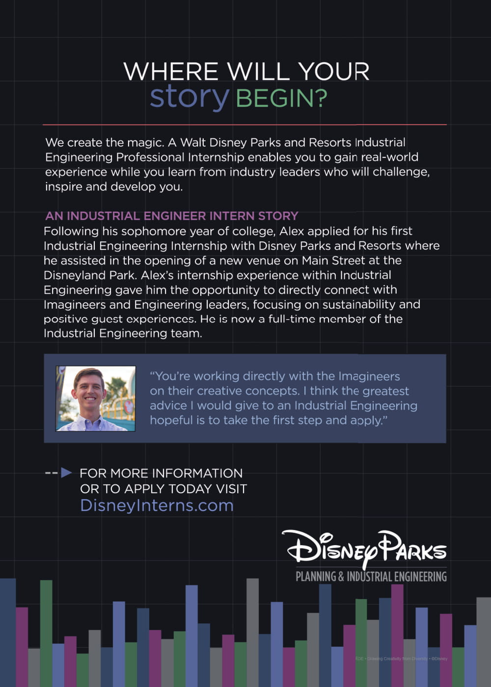 Walt Disney Parks & Resorts Industrial Engineering – Internship and Full...-2