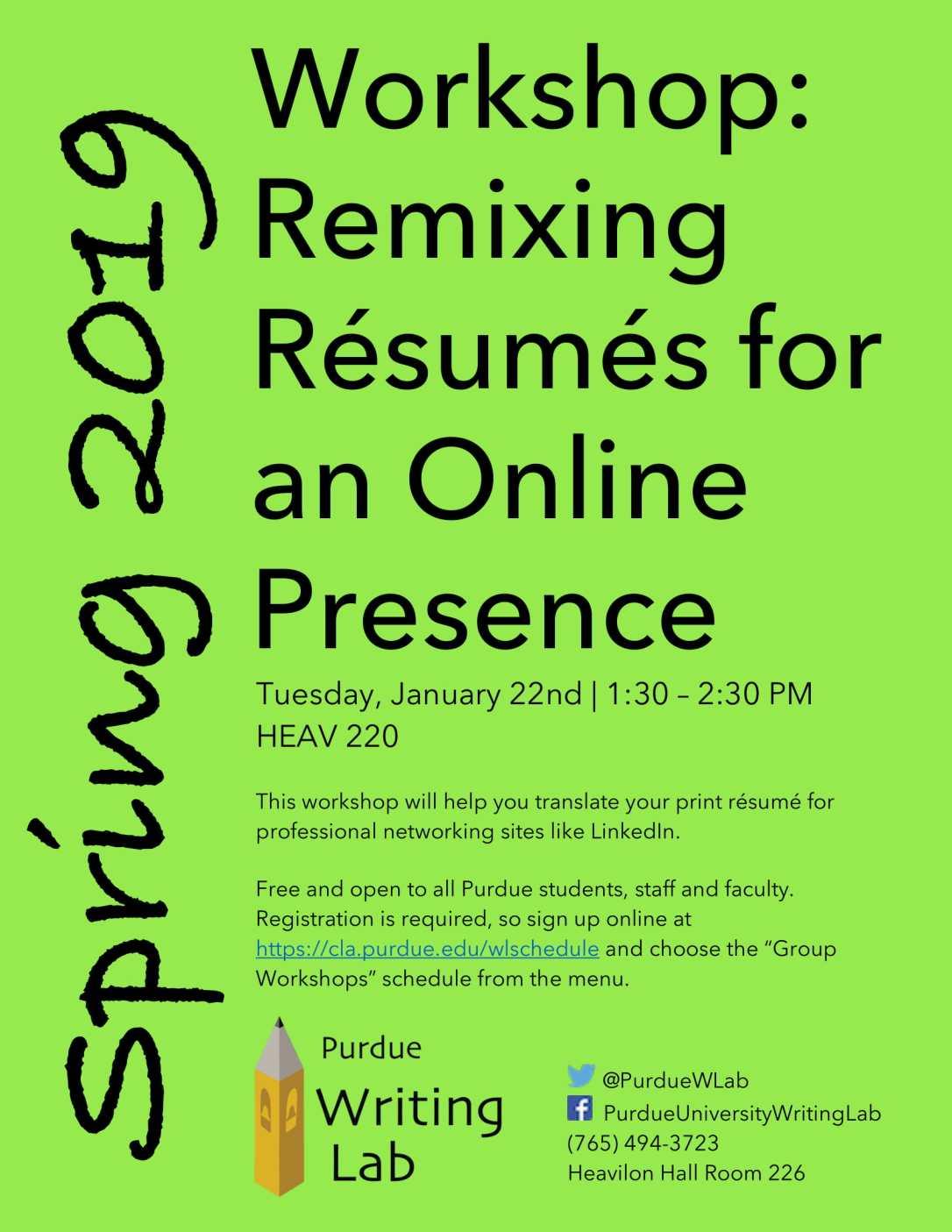 Resume Workshop Flyer_SPring 2019-1