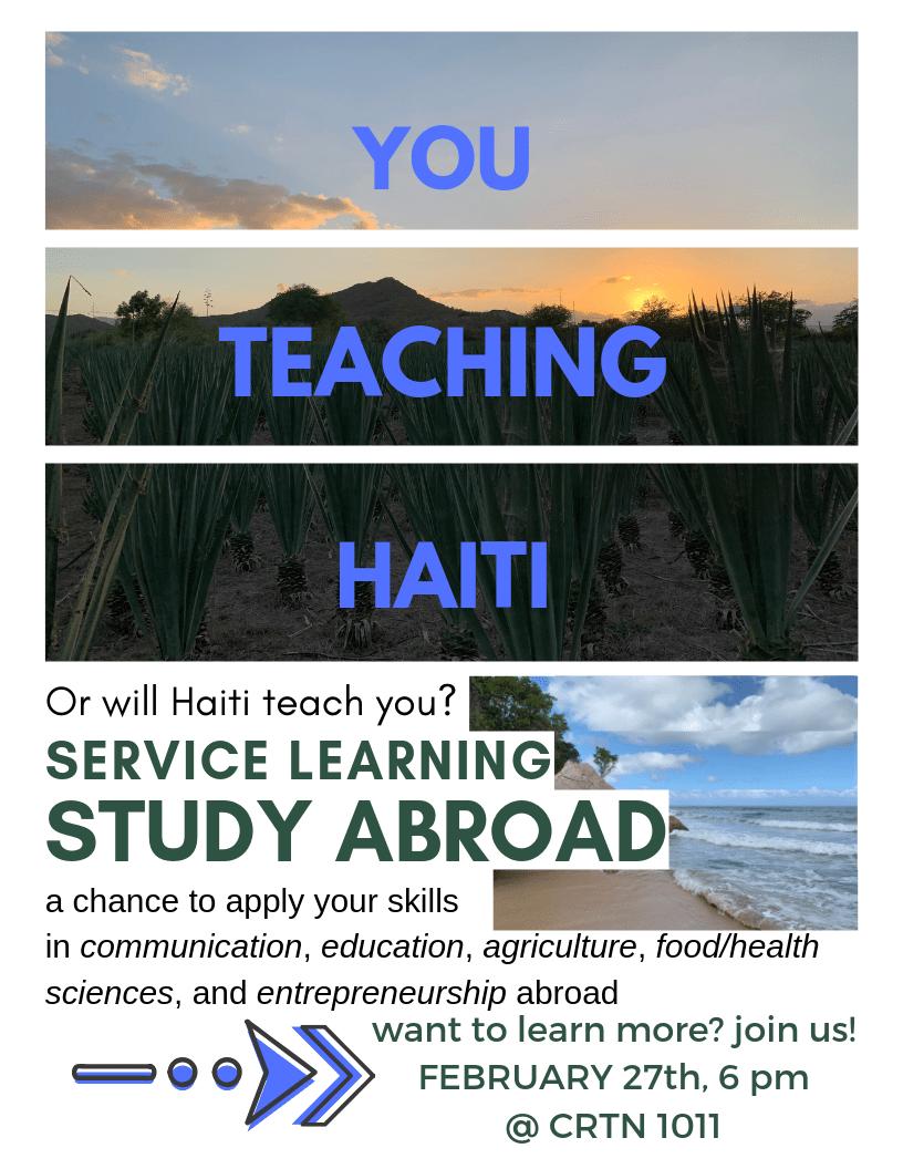 Haiti callout flyer 2-2019
