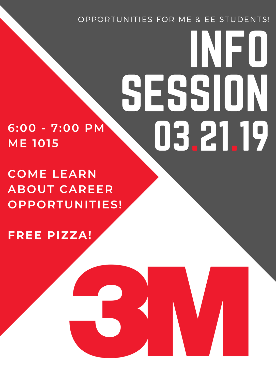 3M Info Session