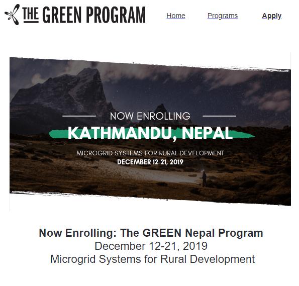 The Green Program 01