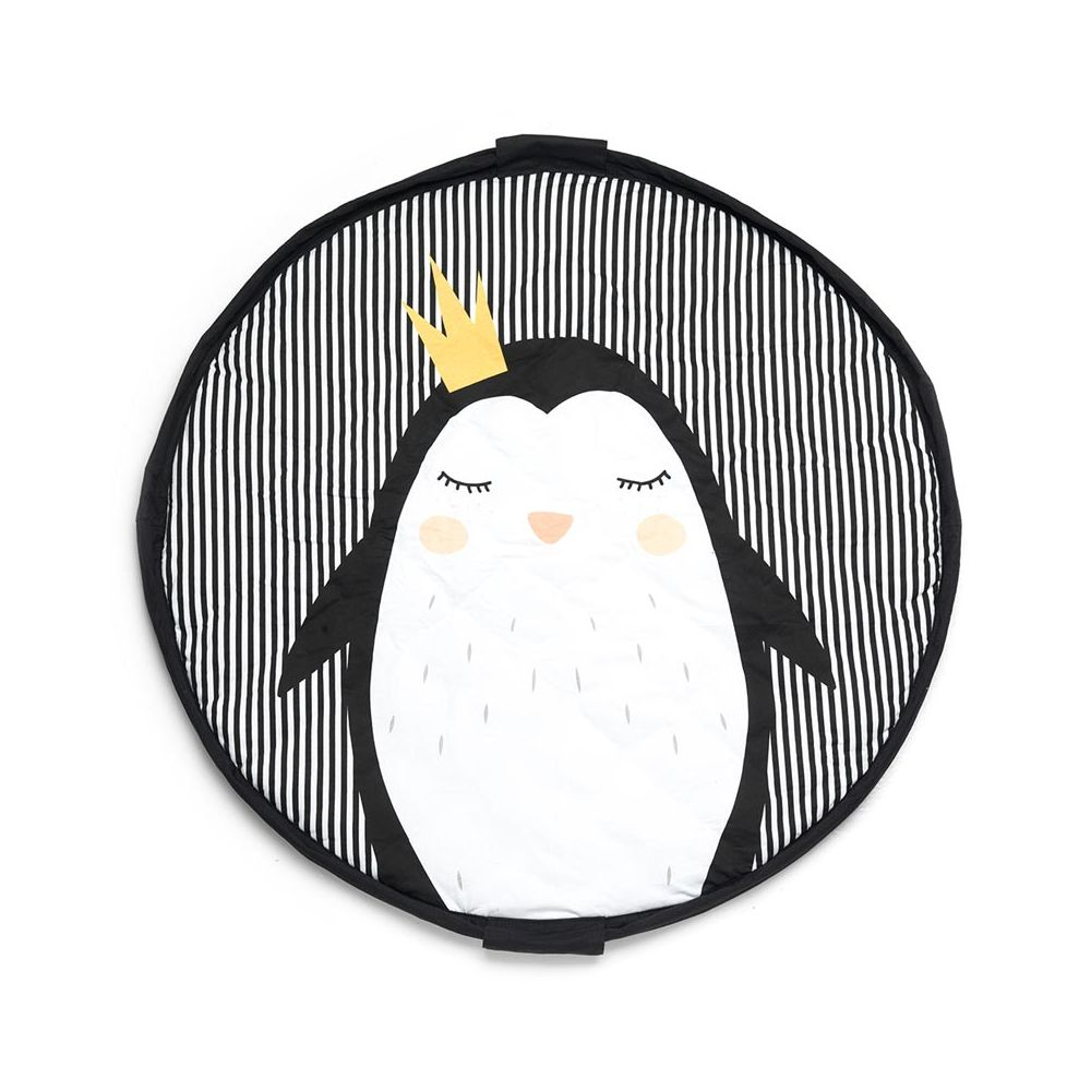 sac tapis de jeu bebe pingouin play and go