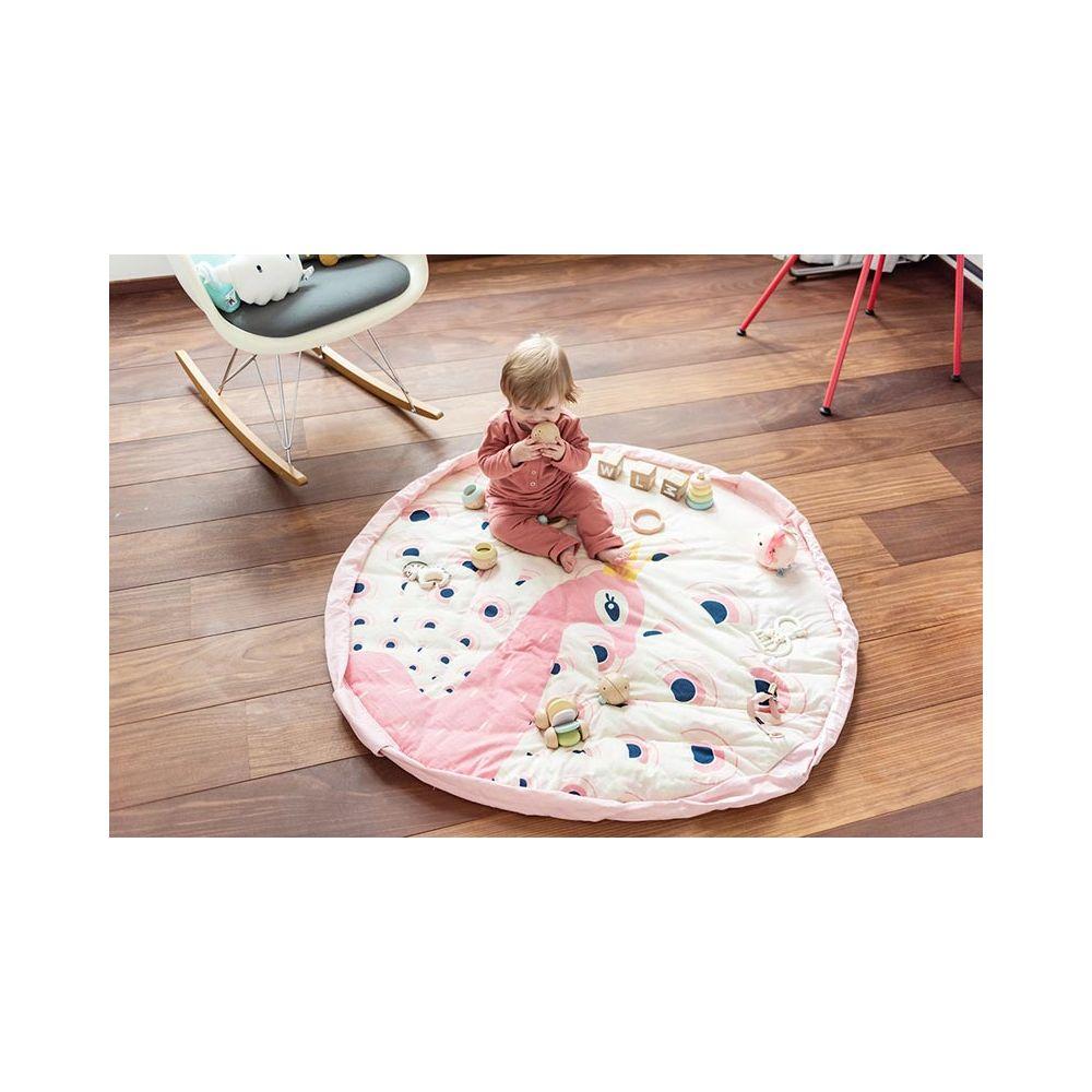 sac tapis de jeu bebe paon play and go