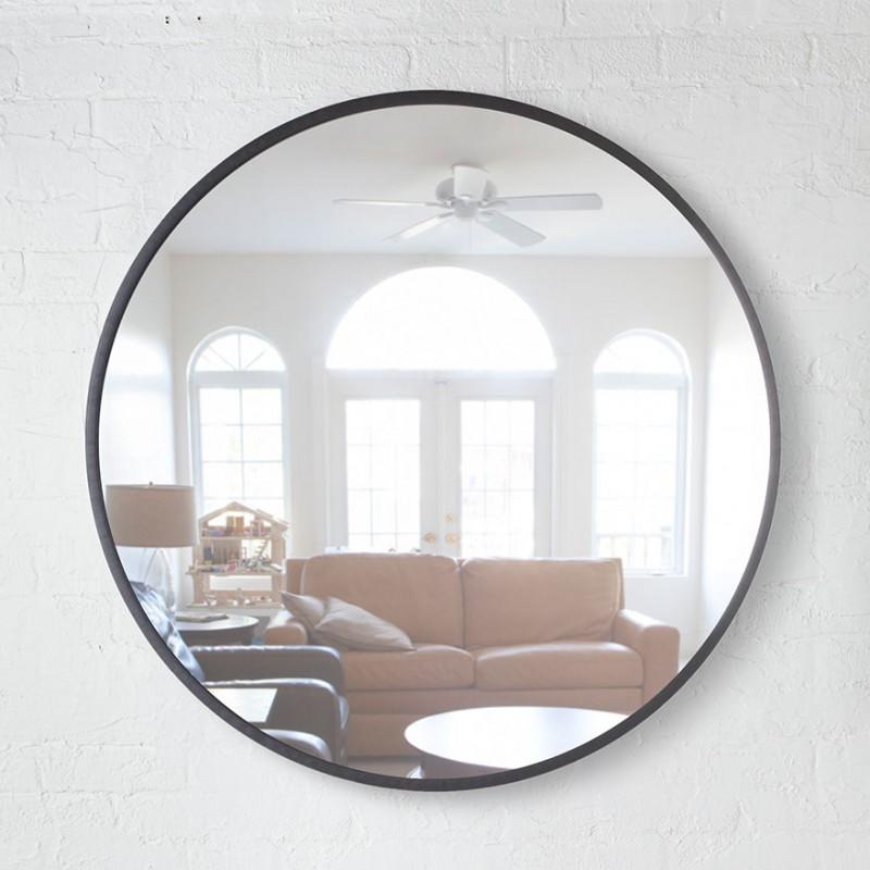 Big Round Mirror Hub By Umbra