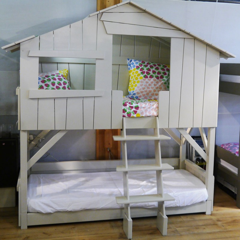 Mathy By Bols Tree House Single Bed Or Bunk Bed In Wood