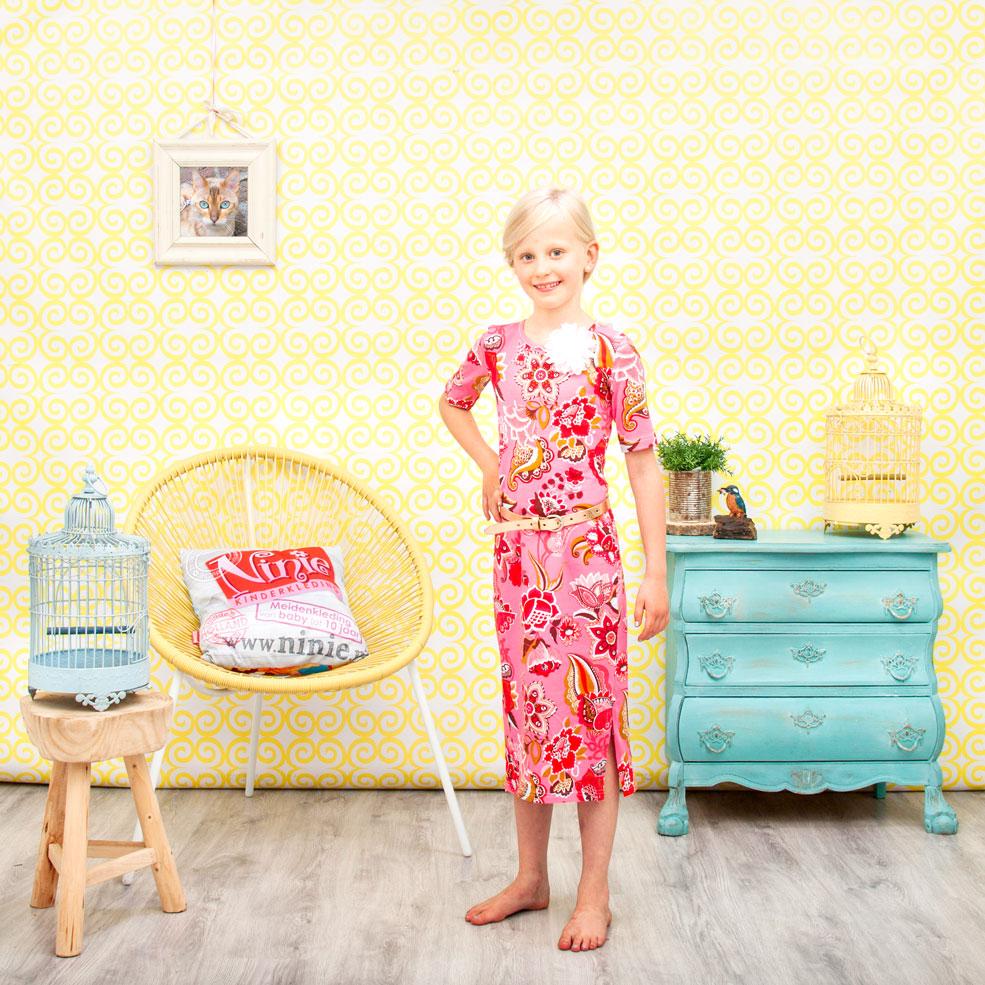 ninie kinderkleding maxi jurk shoot 1