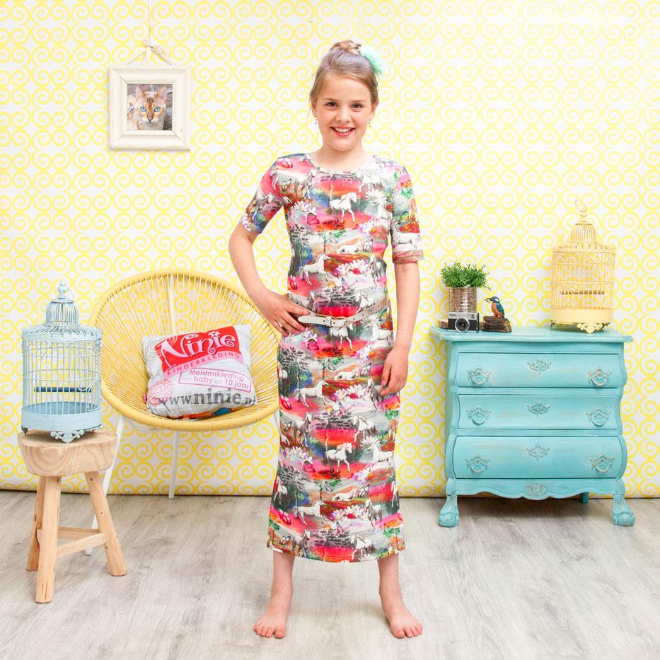 ninie kinderkleding maxi jurk shoot 12