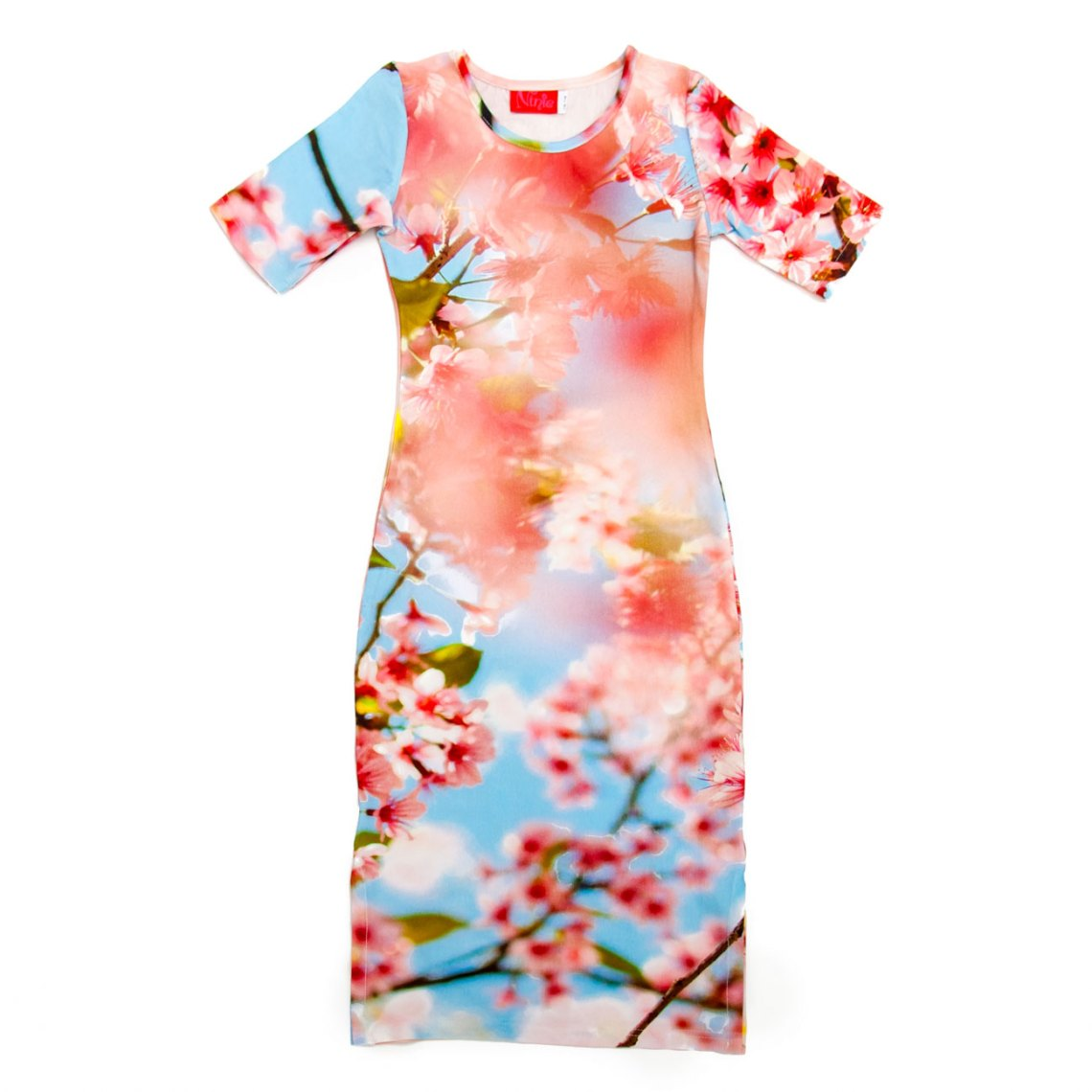 ninie maxi jurk blossom