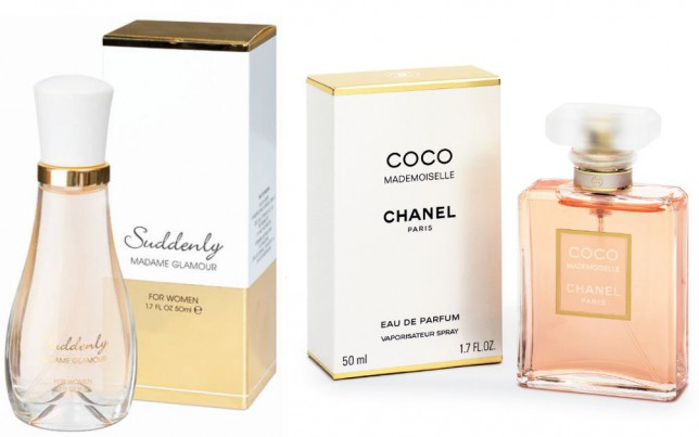 Budget tip: Lidl's Suddenly Madame Glamour als Chanel's Coco Mademoiselle