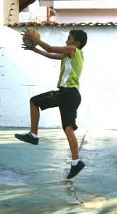 中学生バスケ教室