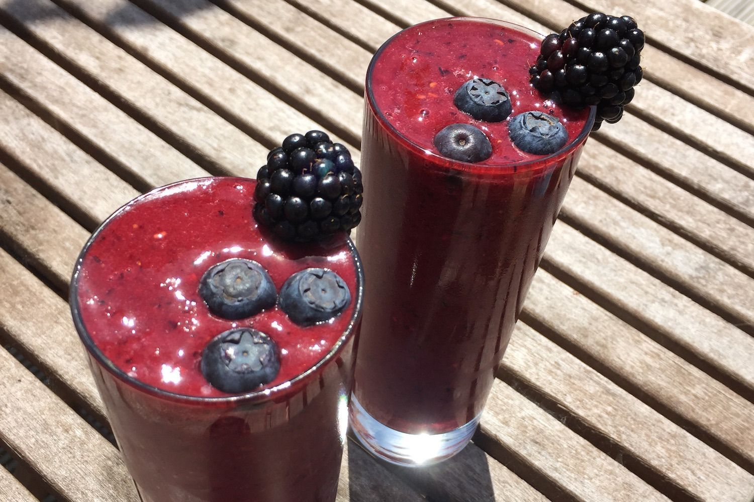 Bloody Berrie: Zomerse Rode Smoothie