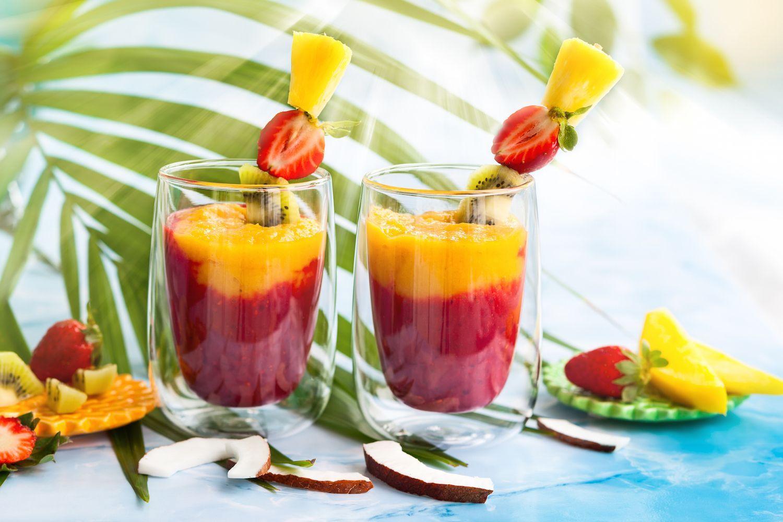 Kokoswater Smoothie: Coconut Deluxe