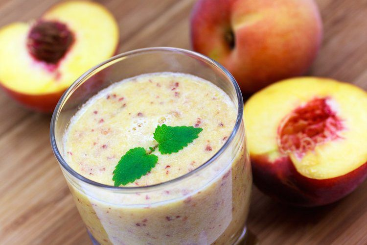 "Perzik Smoothie: ""Peach Perfect"""