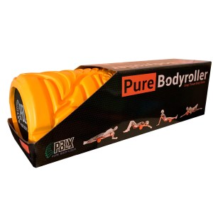 pure body massage roller in box