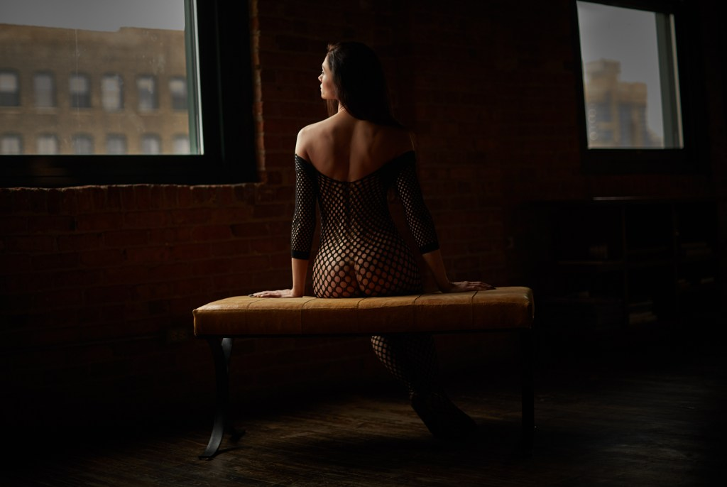 chicago boudoir bridal bride session