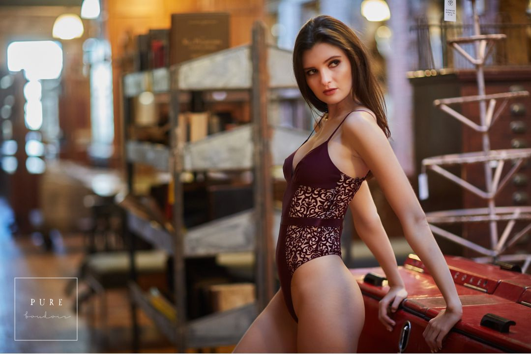 best chicago lingerie photo session