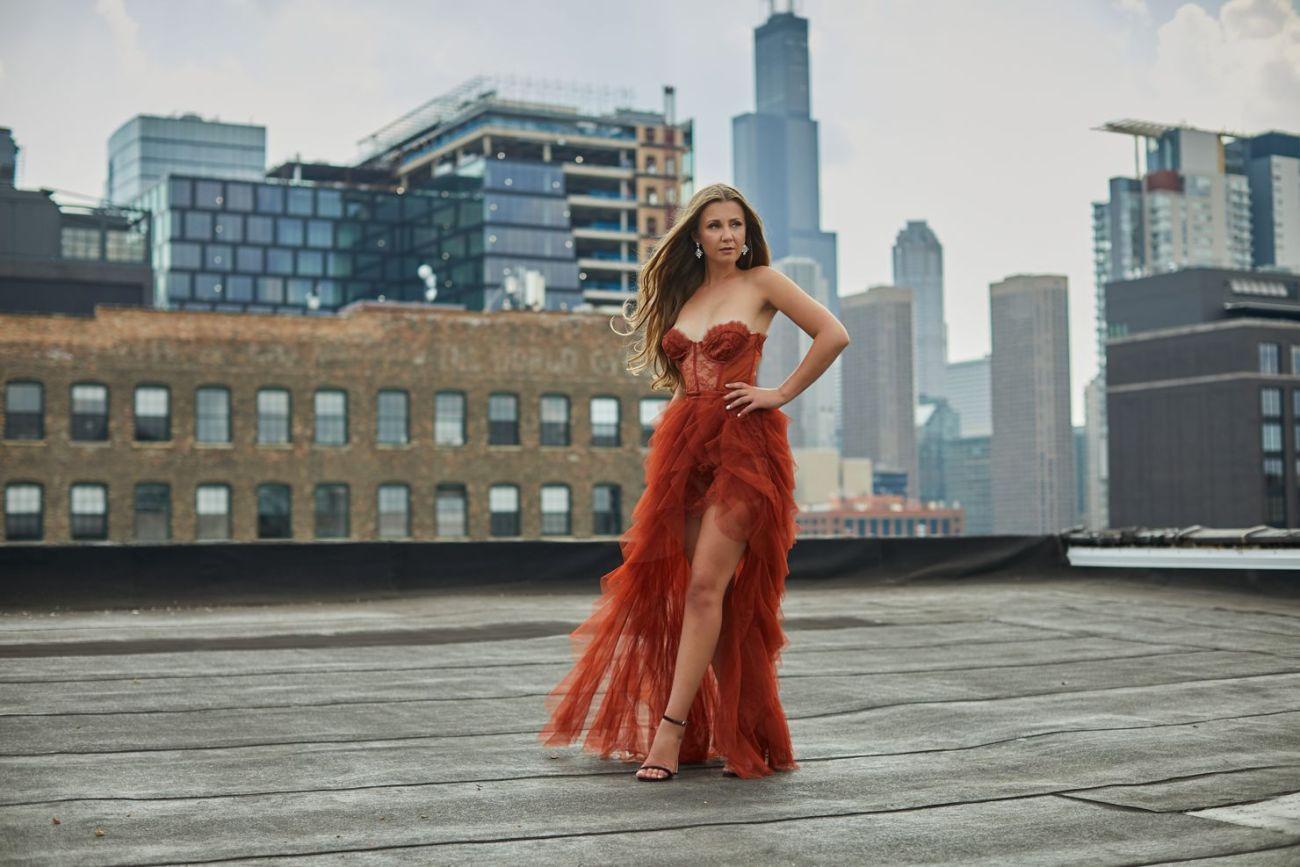boudoir photography skyline chicago sexy dress - Listing E