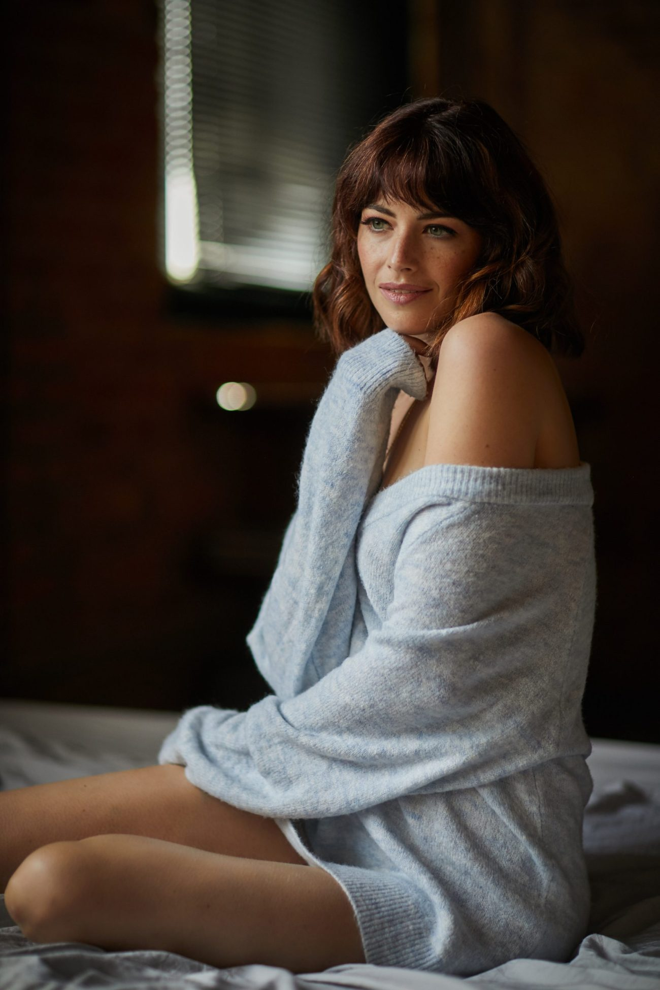 elegant classy winter boudoir photos gift scaled - A Boudoir Session - Is It Worth the Investment?