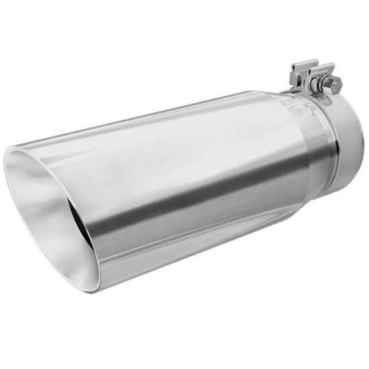 4 inch in 5 inch out 13 inch length magnaflow stainless clamp on tip