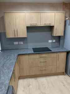 modern fitted kitchens Glasgow