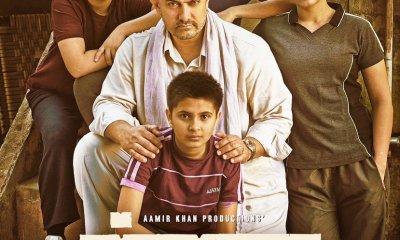 Dangal Official Poster Starring Aamir Khan