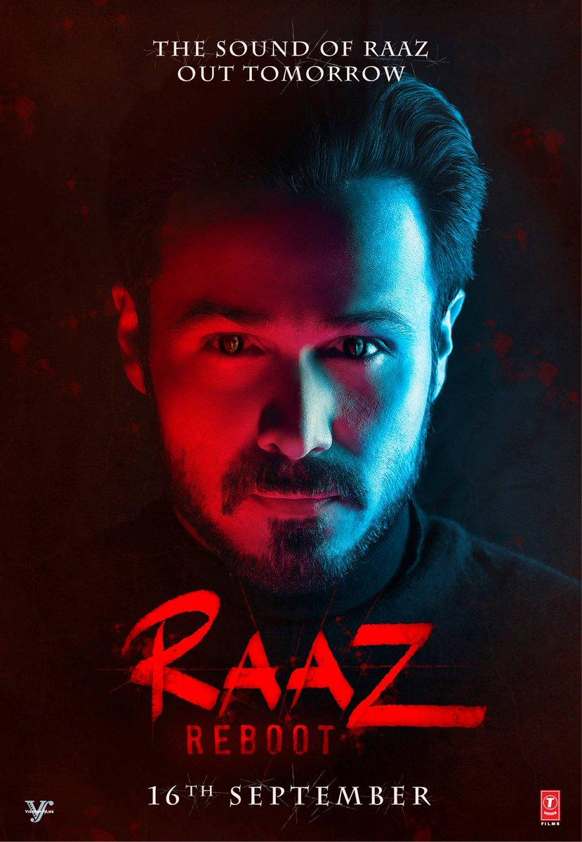 Raaz Reboot Official Poster starring Emraan Hashmi