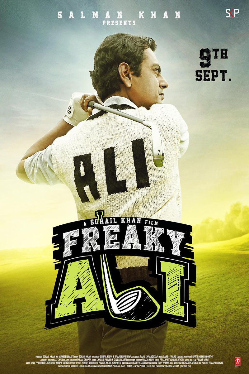 Freaky Ali Official Poster Starring Nawazuddin Siddiqui