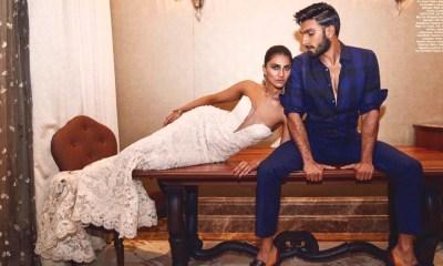 Vaani Kapoor Ranveer Singh Harper's Bazaar Magazine Photoshoot 2016