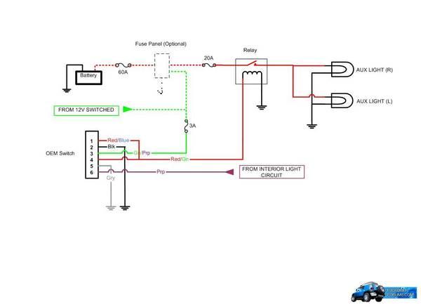 FJ Fog Light Switch / Harness [FJ-SWITCH]