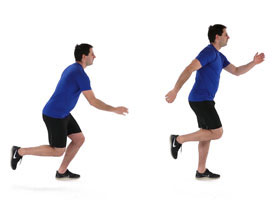 Running injury prevention - single leg squat