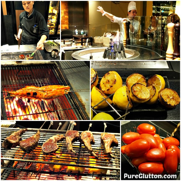 Grill Collage