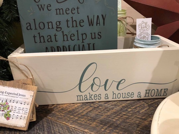 Planter Box Love Makes a House