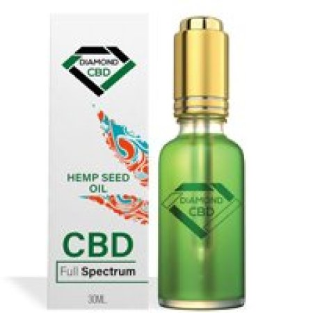 Diamond CBD Unflavored Hemp Oil
